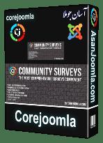 افزونه Community Surveys 4.5.5-ایجاد پرسشنامه تحت وب با مشاهده آمار