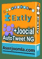 افزونه AutoTweet NG+Joocial 8.15.0-ارسال خودکار مطالب به شبکه های اجتماعی
