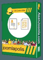 افزونه CB Content Bot 4.0.1-پلاگین الحاقی برای کامپوننت CB-نسخه تجاری