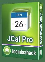 افزونه JCalPro 4.3.23-کامپوننت تقویم و رویداد با ظاهر زیبا برای جوملا