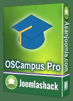 افزونه OSCampus Pro 1.2.6-سیستم آموزش آنلاین جمع و جور برای جوملا