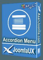 افزونه JUX Accordion Menu 2.2.3-نمایش منو بصورت آکاردئون و کشویی