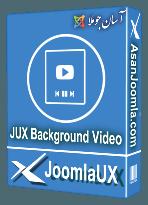 افزونه JUX Background Video 2.0.9-اسلایدر برای پس زمینه سایت-جوملا