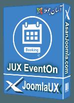 افزونه JUX EventOn 1.0.1-سیستم مدیریت رویداد و رزور نوبت و فروش بلیط