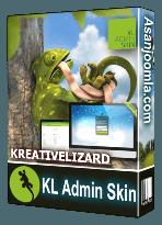افزونه KL Admin Skin 3.5.0-زیباسازی قالب بخش مدیریت جوملا