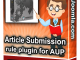 Article Submission Rule Plugin For Aup1