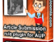 Article Submission Rule Plugin For Aup1 T