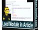 Load Module In Article1 T