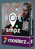 افزونه AMPZ 2.1.7-اشتراک گذاری مطالب جوملا در تلگرام و واتس آپ