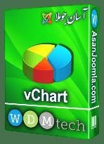 افزونه vChart 2.9.11-سیستم پیشرفته نمایش جداول و نمودار ها در جوملا