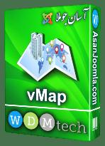 افزونه vMap 1.0.1-کامپوننت ساخت نقشه های گوگل متنوع در جوملا